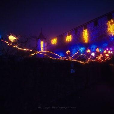 Light installation: Lumi'lierre LightArtist: Erik Barray