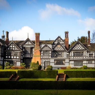 Bramall Hall is a Tudor mansion in North West UK