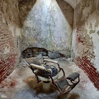 Abandoned Dental Chair