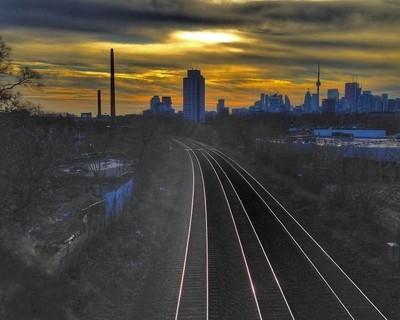 Into the night city
