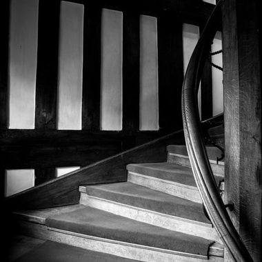 Many a spook has been reported on these stairs.