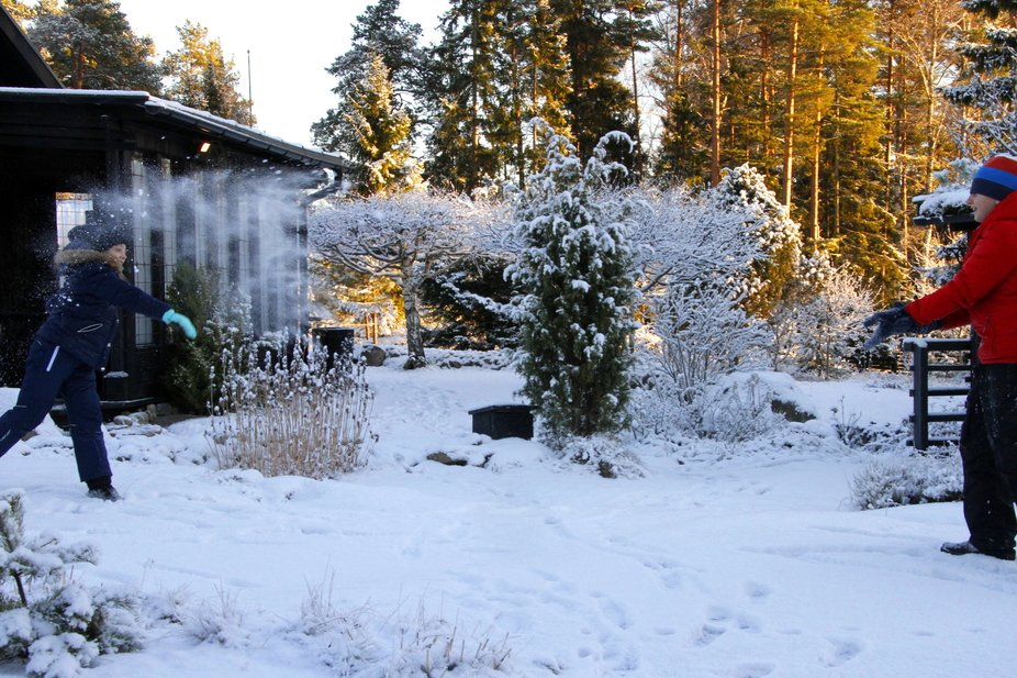 Taken Christmas day 2015 on our trip to see family in Sweden