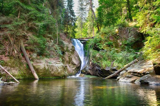 Wodospad Szklarki, near Szklarska Poreba, Poland