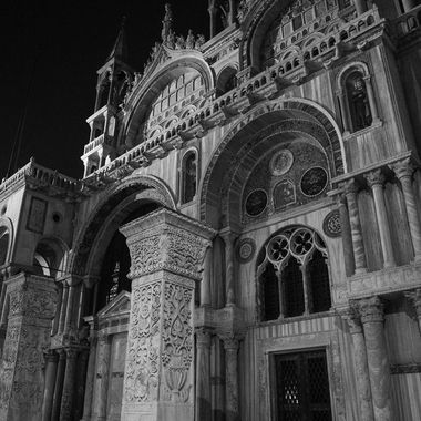 San Marco a Notte b and w