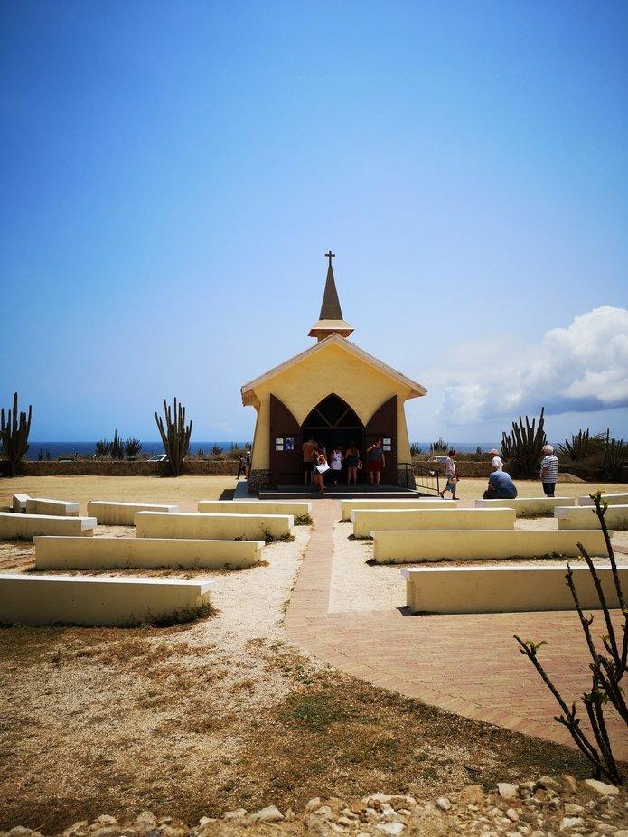 Die kleinste Kirche auf Aruba
