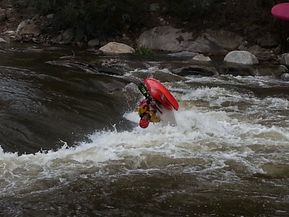 This was taken at the 2014 Paddlefest World Kayaking Competition.