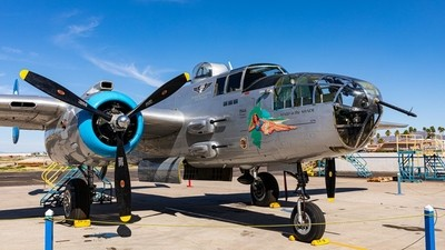 Warplane - B-25 Mitchell Bomber