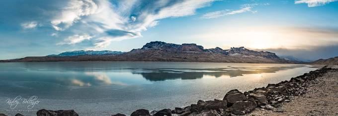 Buffalo Bill Reservoir Panorama