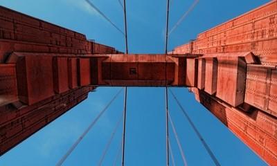 Golden Gate Bridge Tower 2