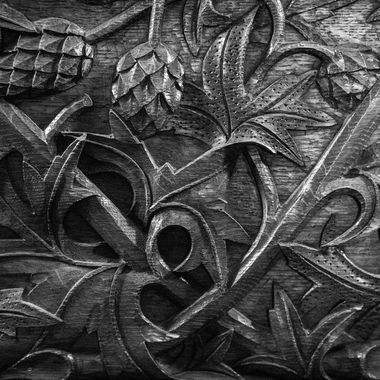 Arts and crafts woodwork, late 1800's. Who has the skill to do this anymore?