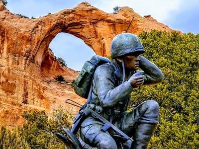 Navajo Code Talker Memorial WWII