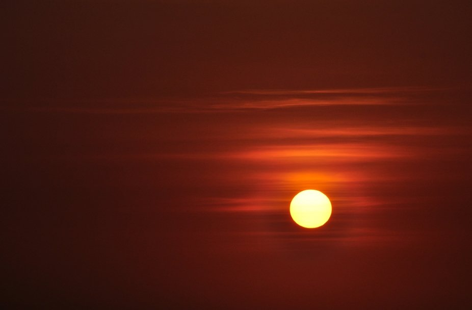 Sonnenuntergang über Curaçao