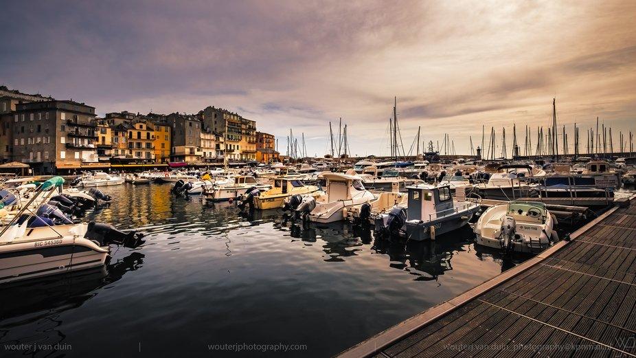 Beautiful Bastia on Corsica