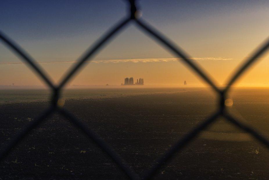 Wire sunrise into the wire