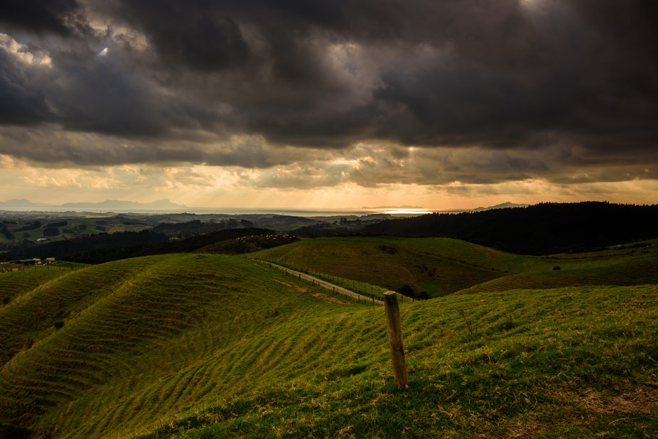 Photo take from Brynderwyn Lookout, North Island, New Zealand