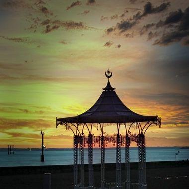 South England at Sun set.