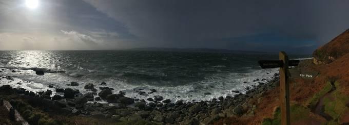 Stormy day on Arran