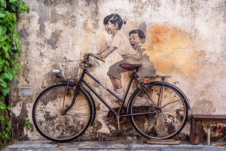 Malaysia - Penang  -  Streetart