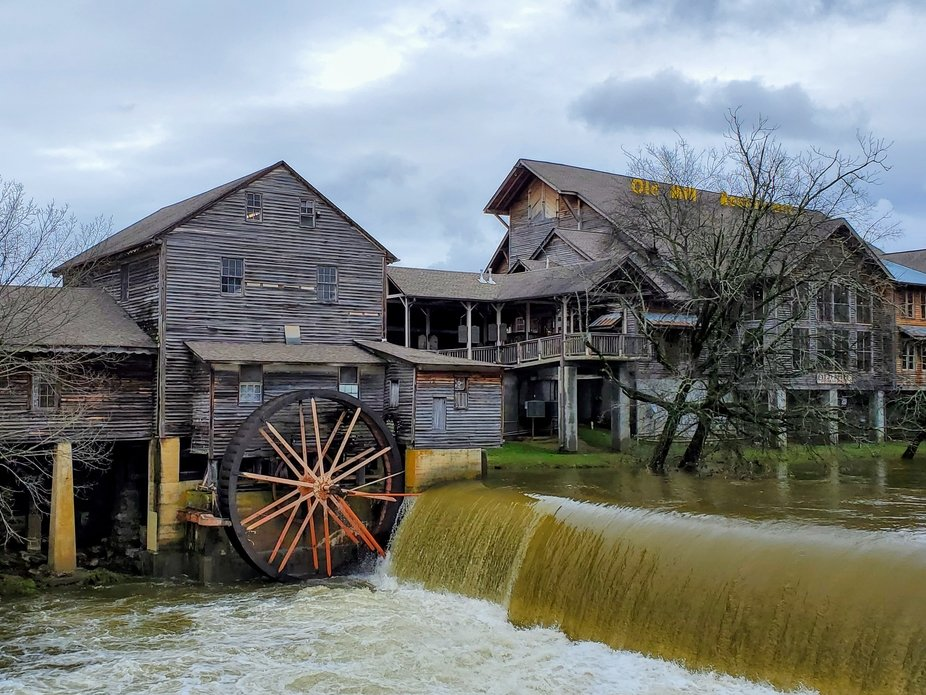 On the river Pigeon Forge Tennessee