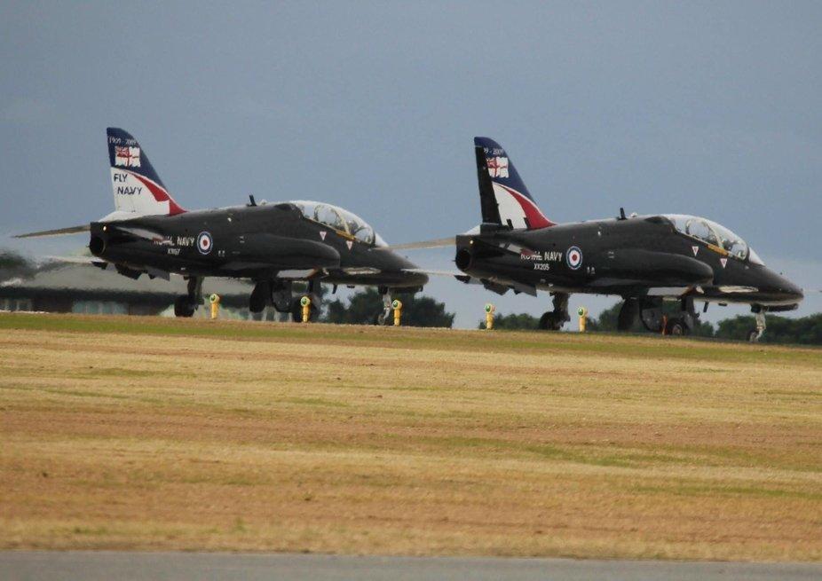 Hawk T1s Royal Navy Air Station Culdrose Cornwall