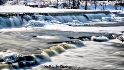 Winter Waterfalls II