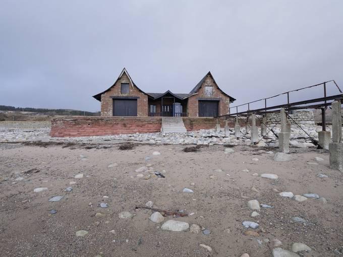 Gothic Boathouse on Kilbrenan Sound @Dougarie Estate on Arran