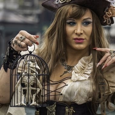 Carnevale 2020 Pirata Steampunk mcu