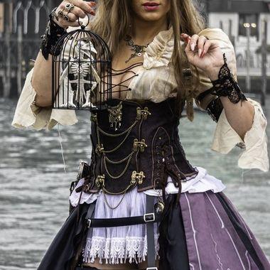 Carnevale 2020 Pirata Steampunk