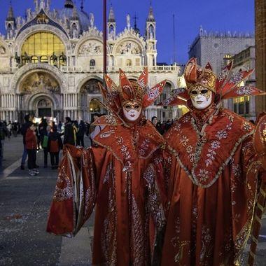 Carnevale 2020 San Marco Couple