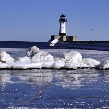 Lake Superior, Canal Park, Duluth, Mn. U.S.