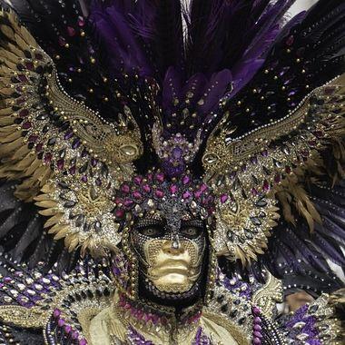 Carnevale 2020 Paolo headress wings