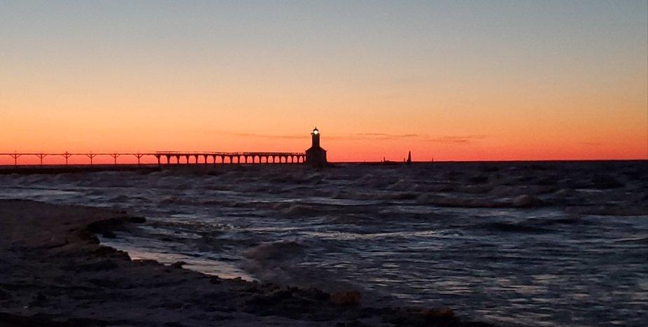 Taken in Michigan City, IN at Washinton Park Beach