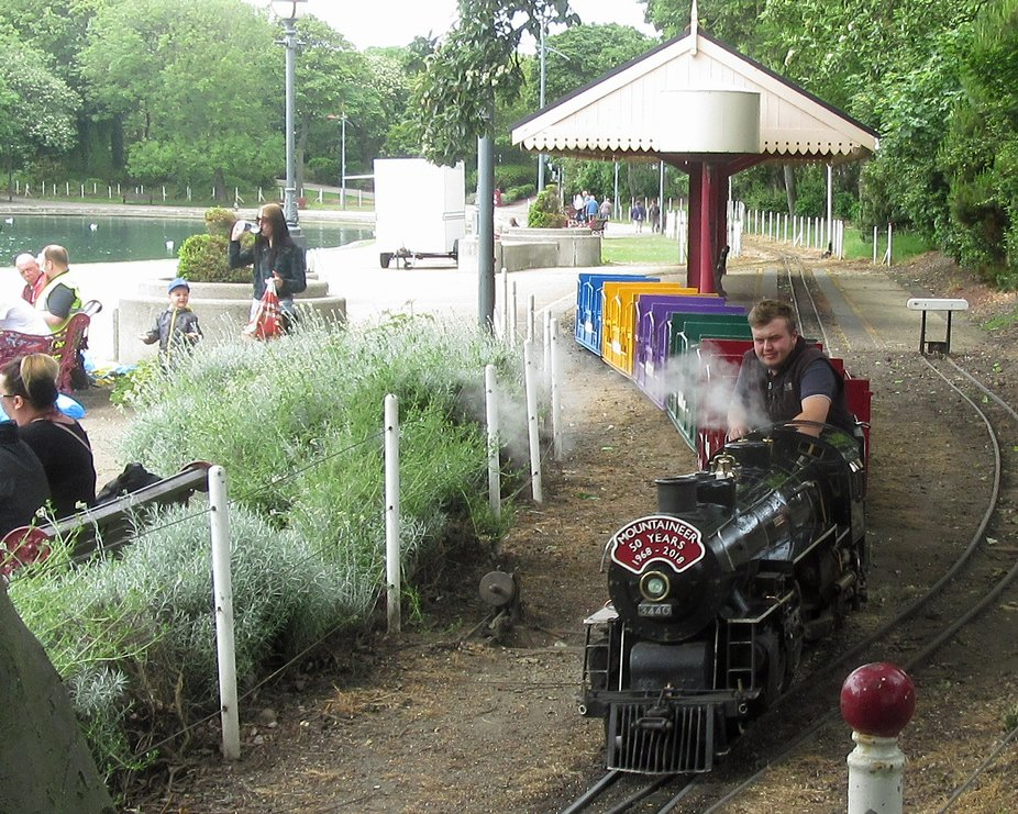 Model Railway at South Marine Park South Shields GB.
