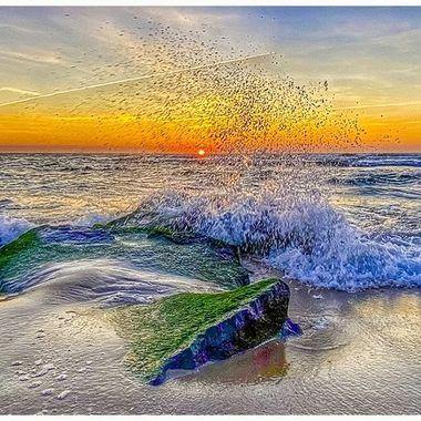 Surf City Sunrise 3-2-20
