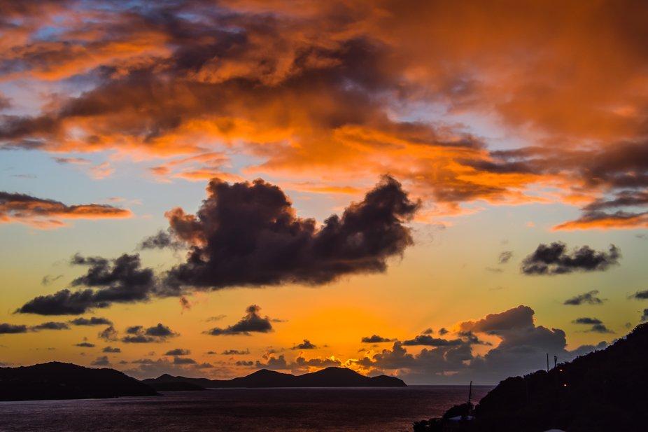 Dawn, St. John's Island