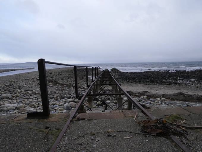 Slip way at Dougarie on Arran