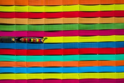 Colors of Inle Fabrics