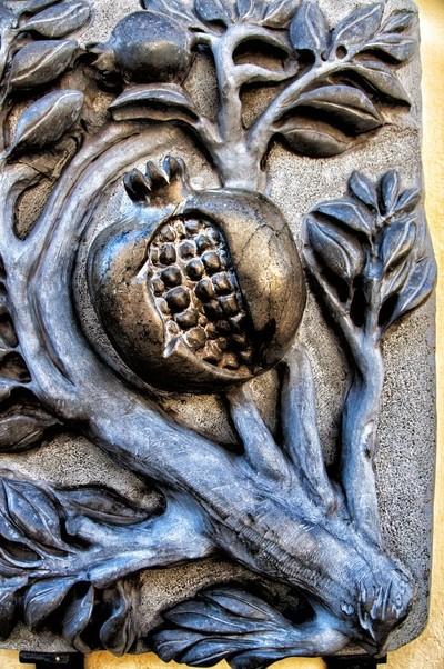 Escultura relieve (Granada, España)
