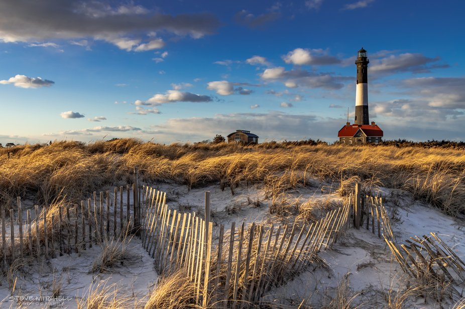 A cold and windy walk to the Fire Island Lighthouse, Fire Island, NY.