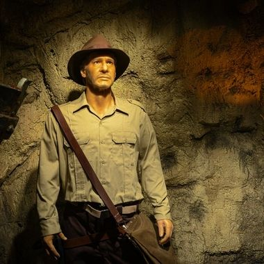 Mr. Harrison Ford in wax ..