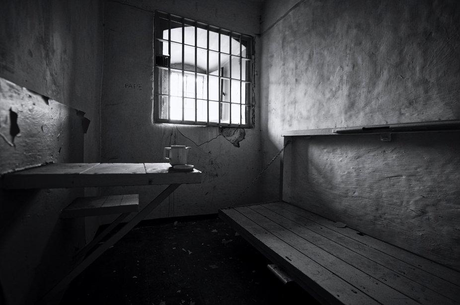 taken in a old prison in east Germany