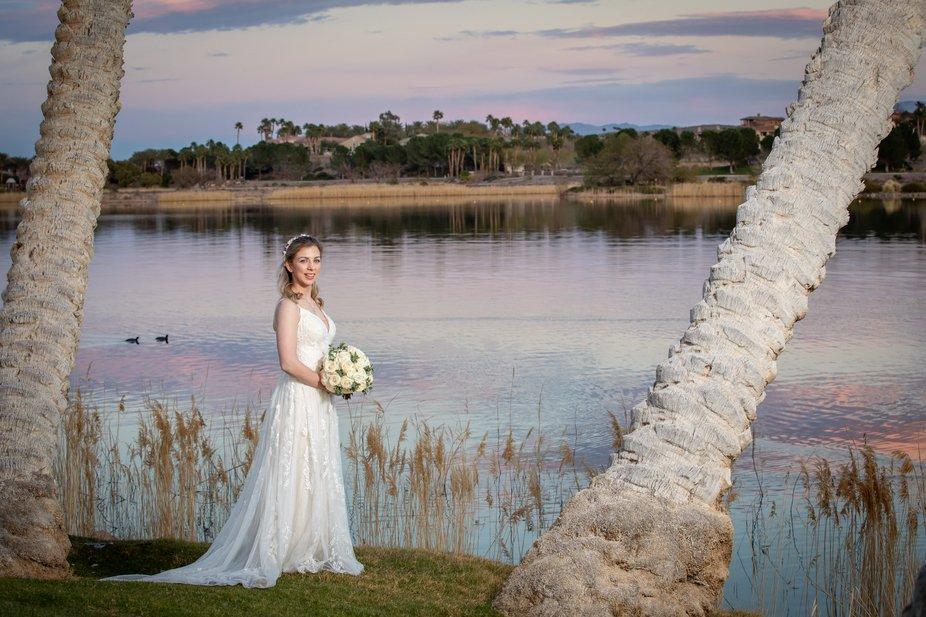 Lake Las Vegas wedding
