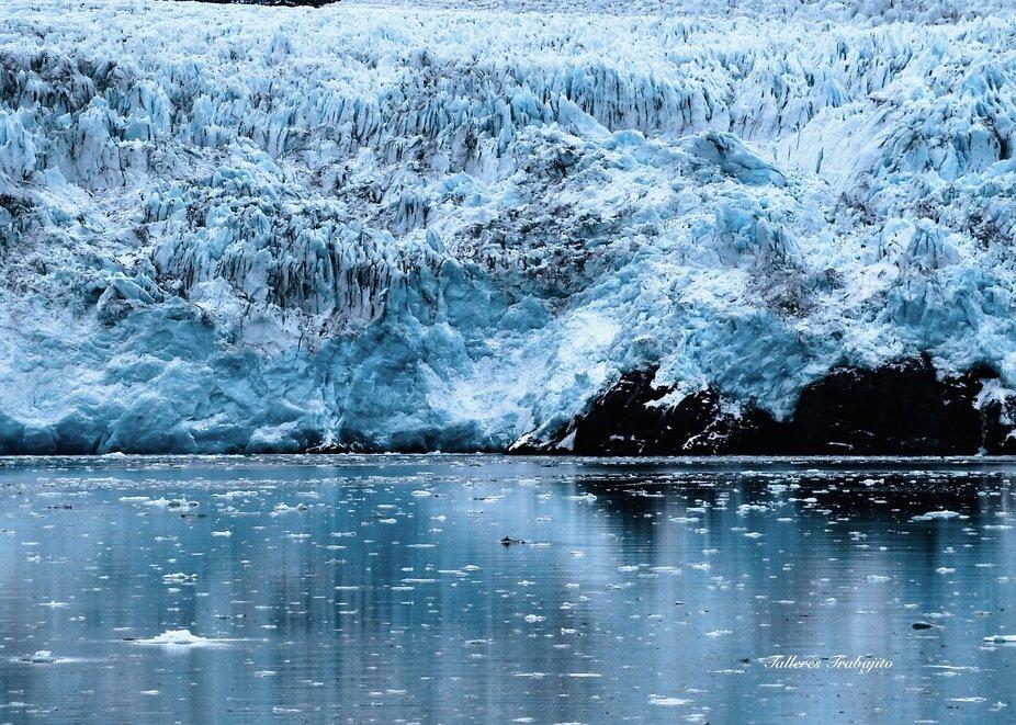 Cruising by the Amalia Glacier ,Chile.