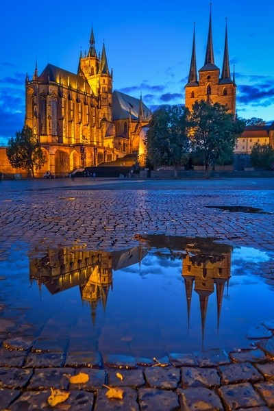 Erfurt at Dawn