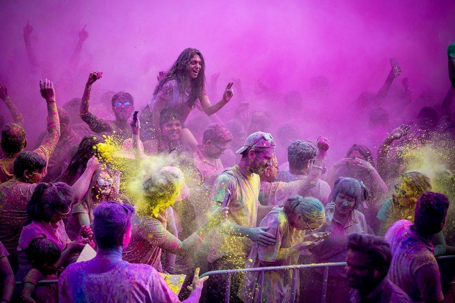Colour Smash - Holi Festival of Colours