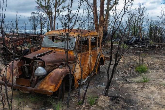 Highway to Hell #6 Aftermath of the 2020 Australian bush fires