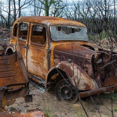 Aftermath Australian bush fires 2020 Highway to Hell Album #7