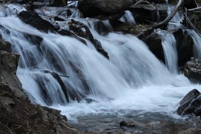 Gushing Waterfalls