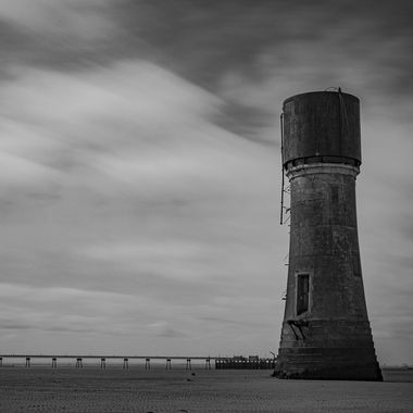 Old Light House at Spurn Heritage Coast.
