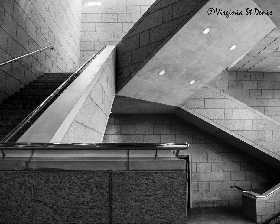 Staircase at the National Gallery of Canada